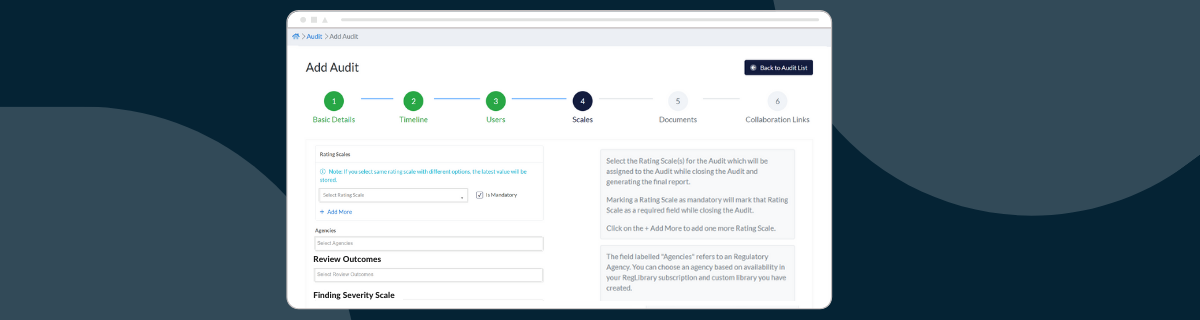 New Meta Configurations for a Flexible Audit and Compliance Workflow